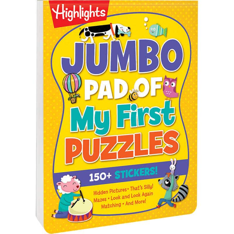Jump Pad of Picture Puzzles