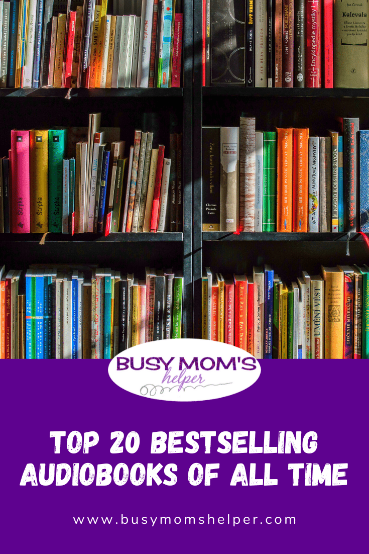 Top 20 Bestselling Audiobooks of All Time