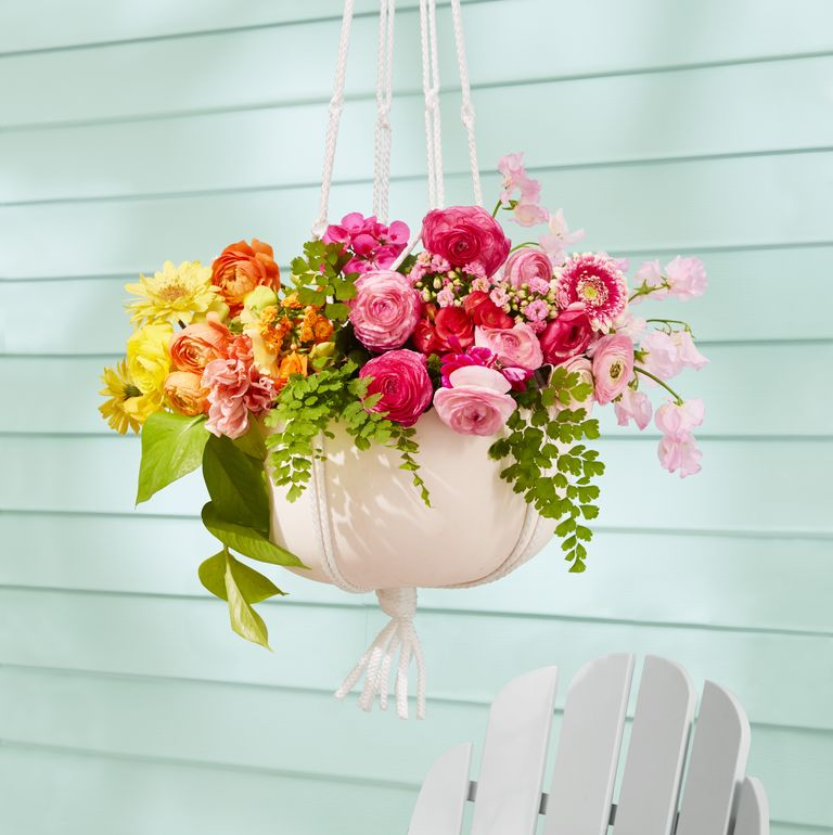 Flower-Filled Planters