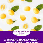 A Simple to Make Lavender Lemonade That Can Lower Your Stress Levels