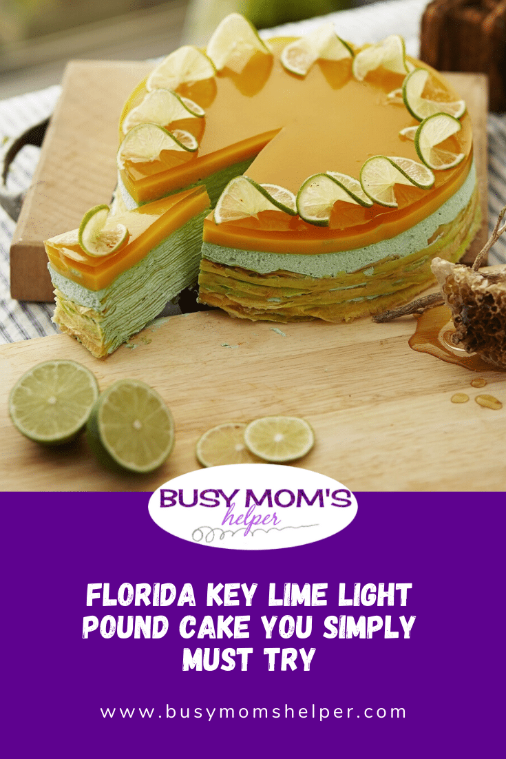 Florida Key Lime Light Pound Cake You Simply Must Try
