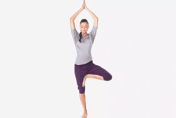 Vrikshasana or the Tree Pose
