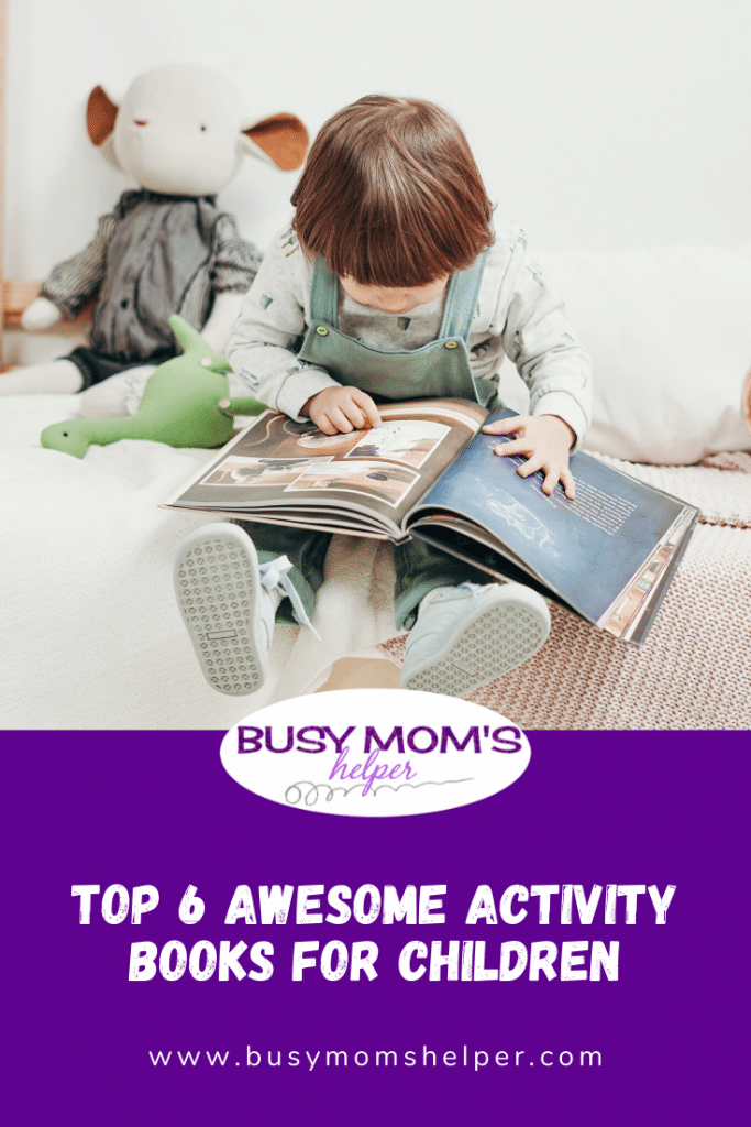 Top 6 Awesome Activity Books for Children