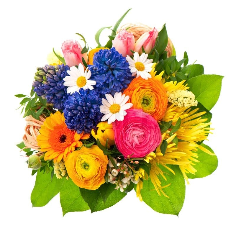 A Colorful Flower Bouquet