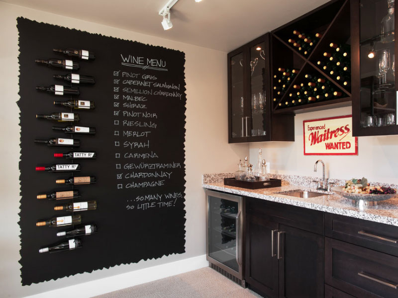 Chalkboard Menu Wall