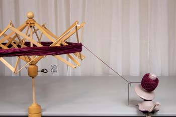5 Steps To Winding Yarn With A Ball Winder