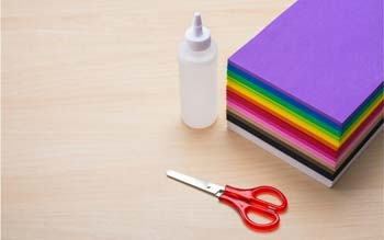Paper or Foam or Fabric Adhesives