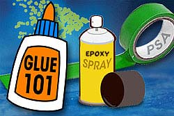 Usages Of Epoxy and Super Glue